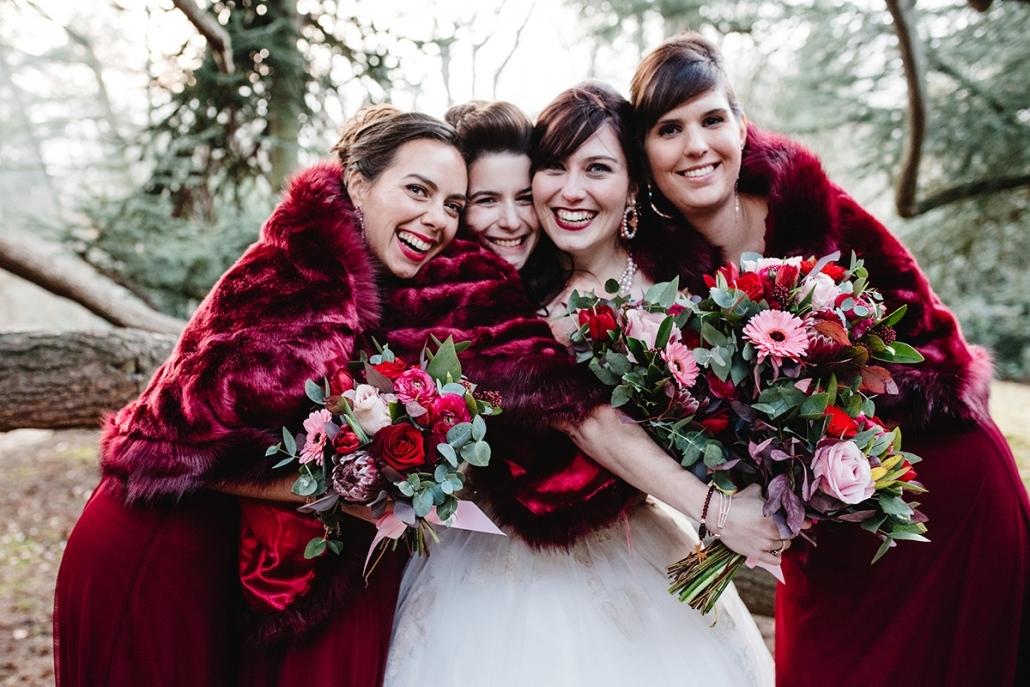 Winter huwelijksfotografie - Vimo Fotografie